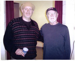 T.J. English with George Carlin